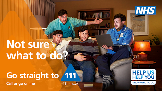 NHS 111 Easy Read leaflet