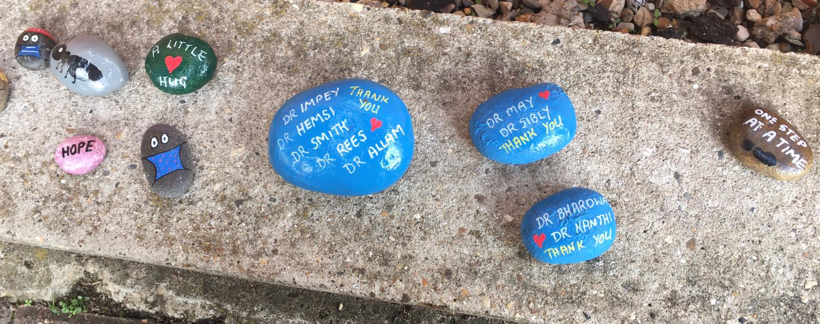 Our NHS Stones