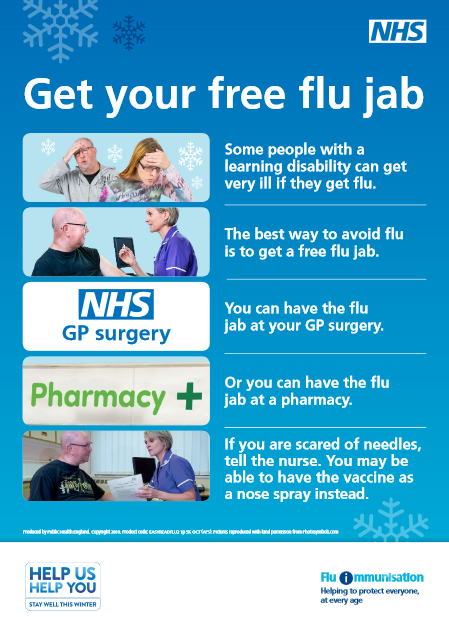 Get Your Free Flu Jab - click to read more